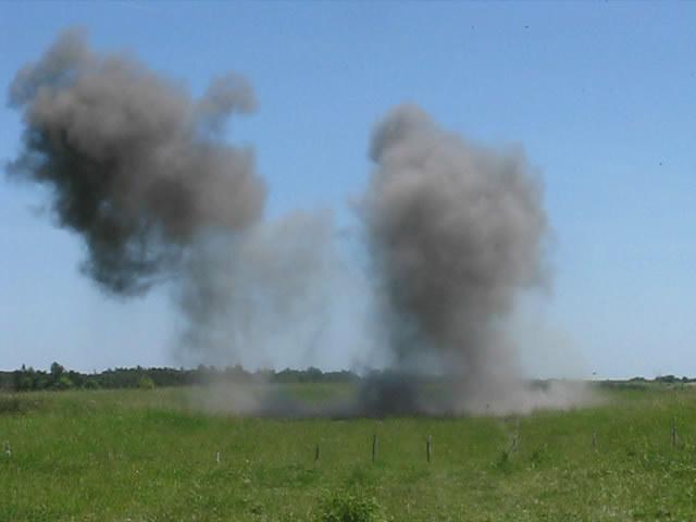 Взрывы тротила