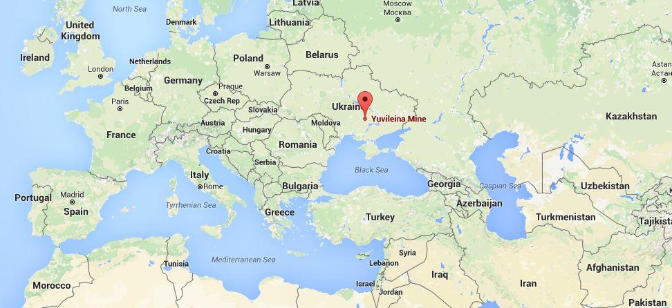 Шахта Юбилейная, Кривой Рог, Украина. Yuvileina Mine, Kryvyi Rih, Ukraine