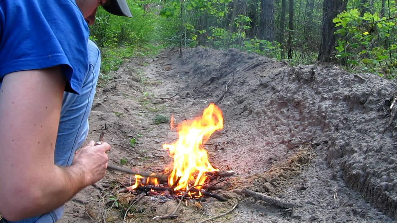 Взрыв ампулы с гексаном (ампулу поместили в огонь). Explosion of ampoule with hexane (in fire)