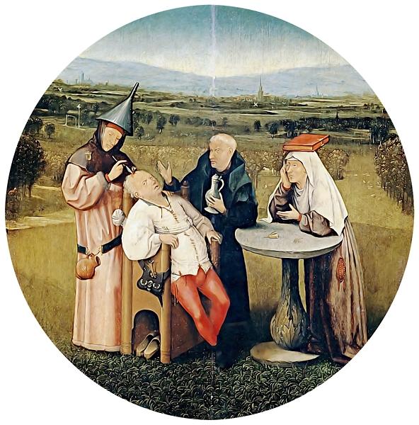Hieronymus Bosch - Steinschneider