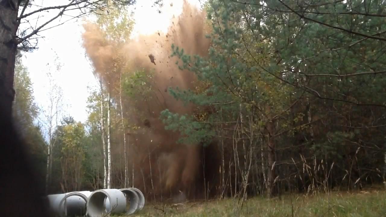 Взрыв смеси: аммиачная селитра - уротропин. Эксперимент #5. Explosion of mixture: ammonium nitrate - hexamethylenetetramine. Experiment #5