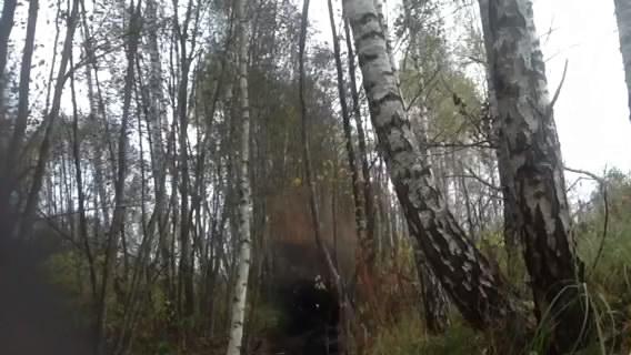 Взрыв смеси: аммиачная селитра - уротропин (подрыв бобровой плотины). Эксперимент #4. Explosion of mixture: ammonium nitrate - hexamethylenetetramine (blasting of beaver dam). Experiment #4