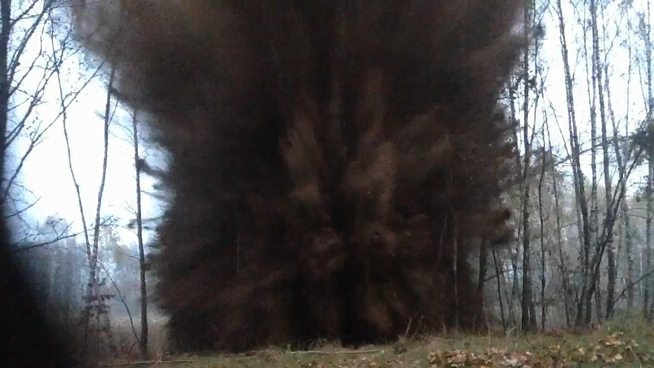 Взрыв смеси: аммиачная селитра - сера. Эксперимент #8. Explosion of mixture: ammonium nitrate - sulfur. Experiment #8