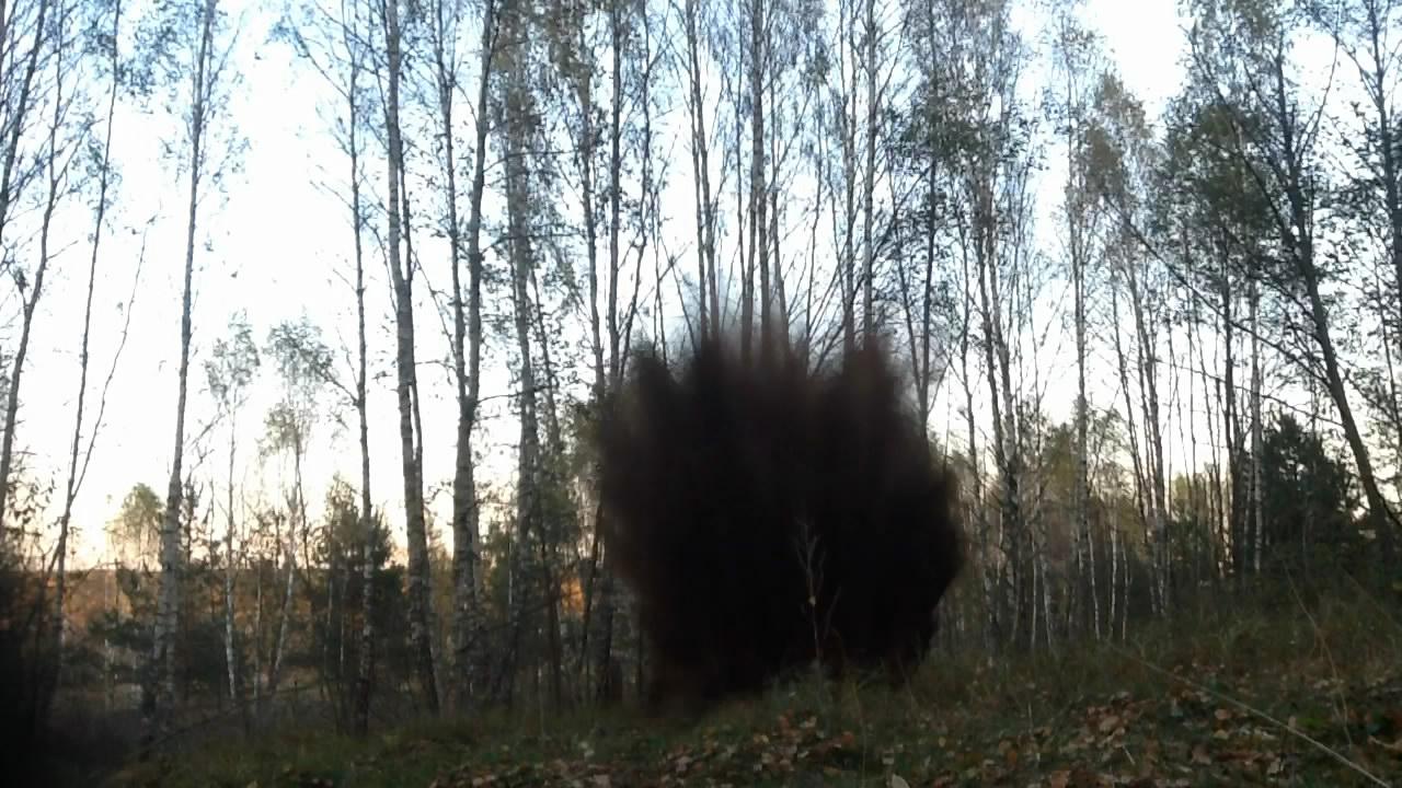 Взрыв смеси: аммиачная селитра - мочевина. Эксперимент #6. Explosion of mixture: ammonium nitrate - urea. Experiment #6