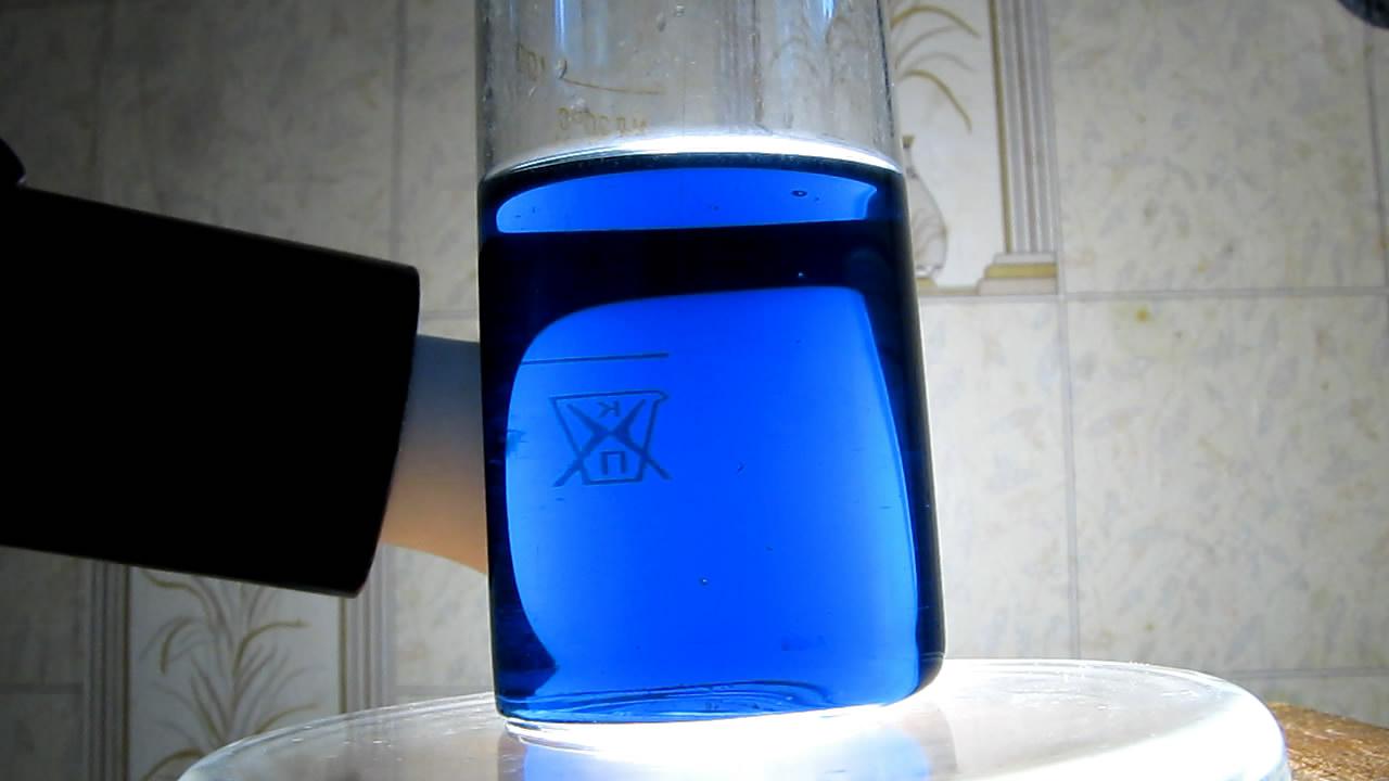 Молибденовая синь. Molybdenum blue