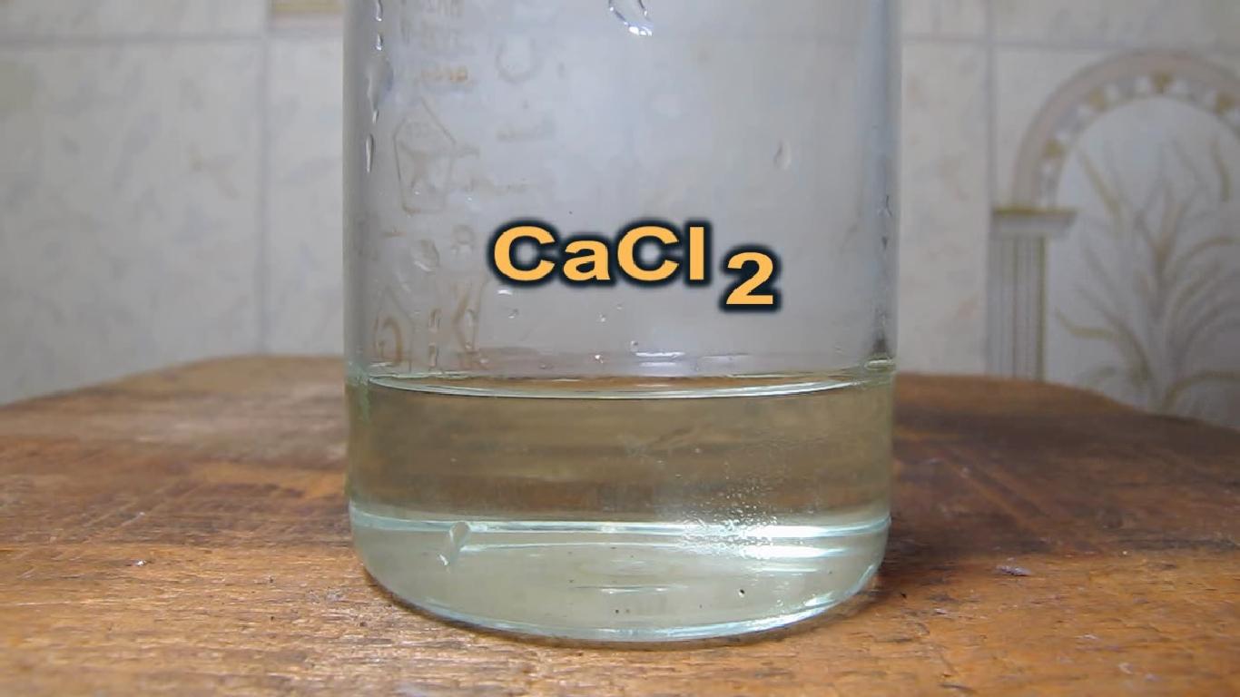 Хлорид кальция и серная кислота. Calcium chloride and sulfuric acid