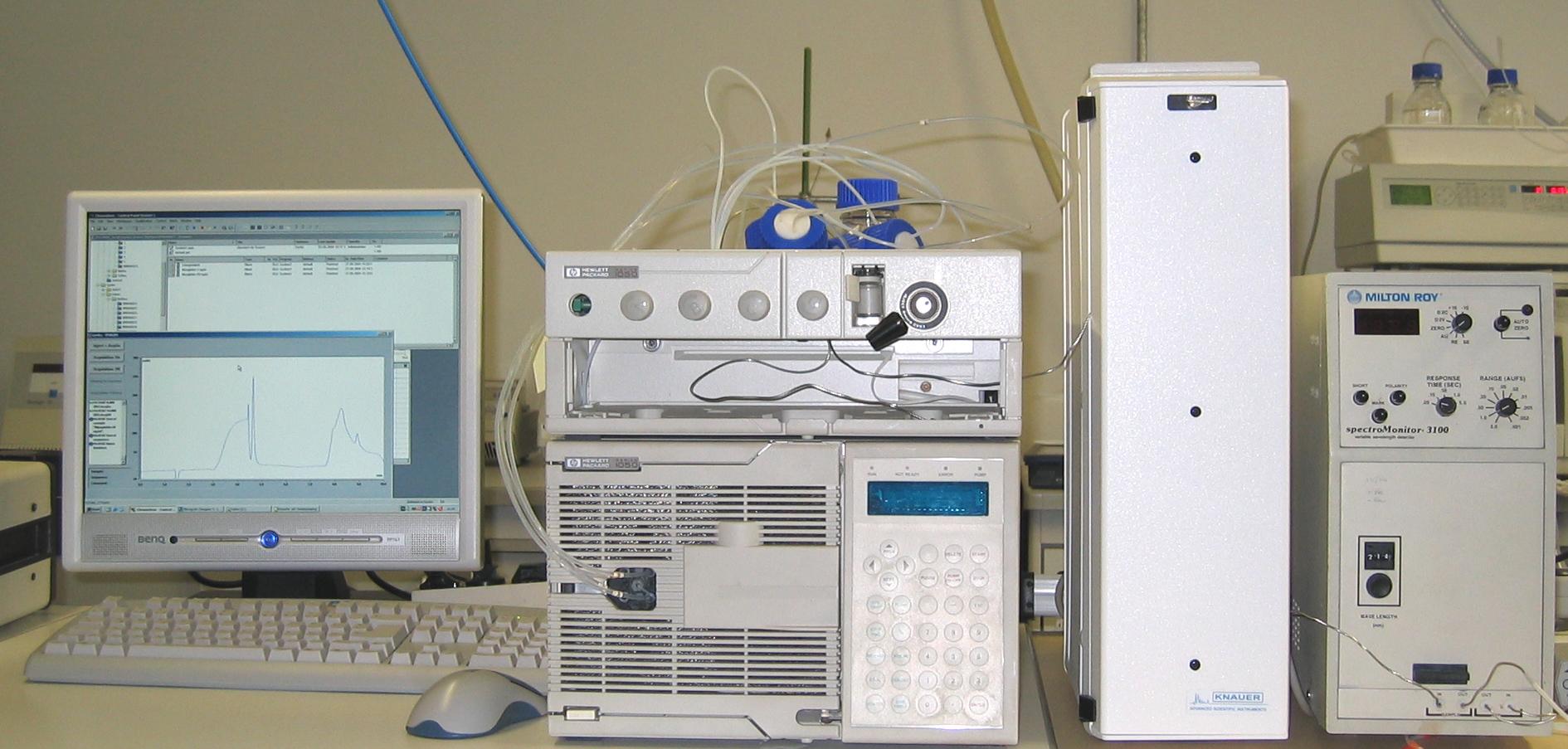 Жидкостные хроматографы фирмы НР