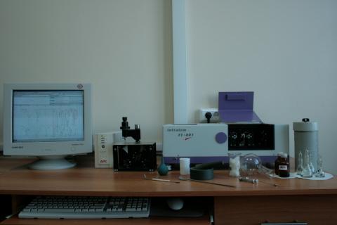Инфракрасный спектрометр Инфралюм ФТ-80