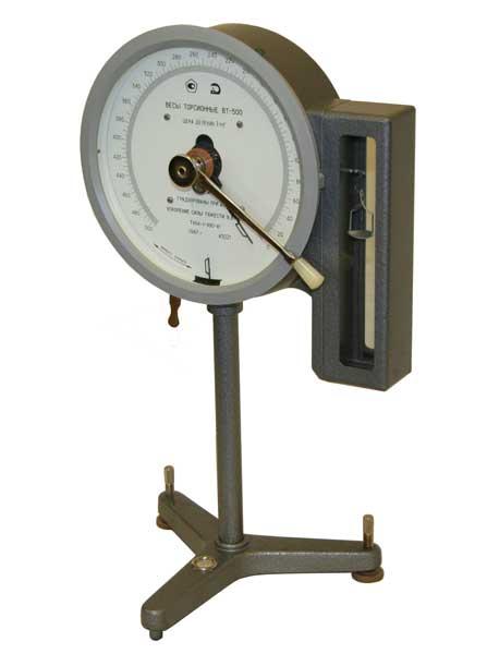 Весы торсионные ВТ-500. Предназначены для взвешивания малых масс (до 500 мг) различного рода веществ в медицинских учреждениях