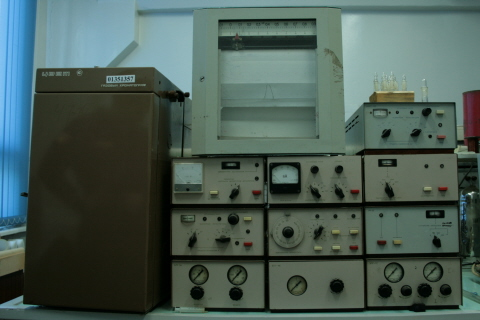 Газовый хроматограф Цвет 100