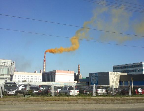 Лисий хвост - выбросы оксидов азота