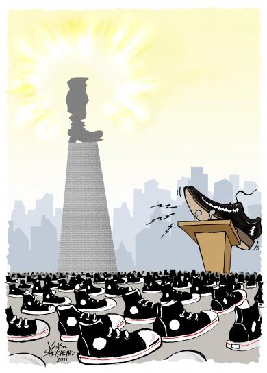 Государству служат худшие люди, а лучшие - только худшими своими свойствами