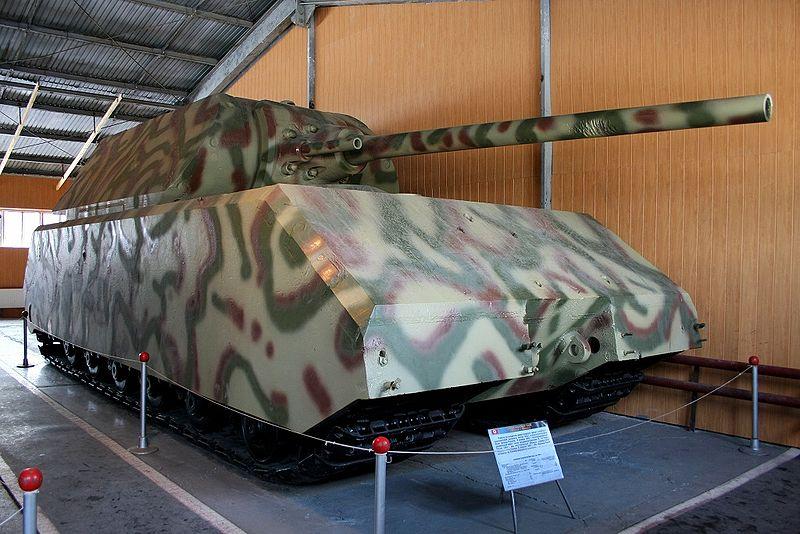 Сверхтяжелый танк Maus (Мышонок)