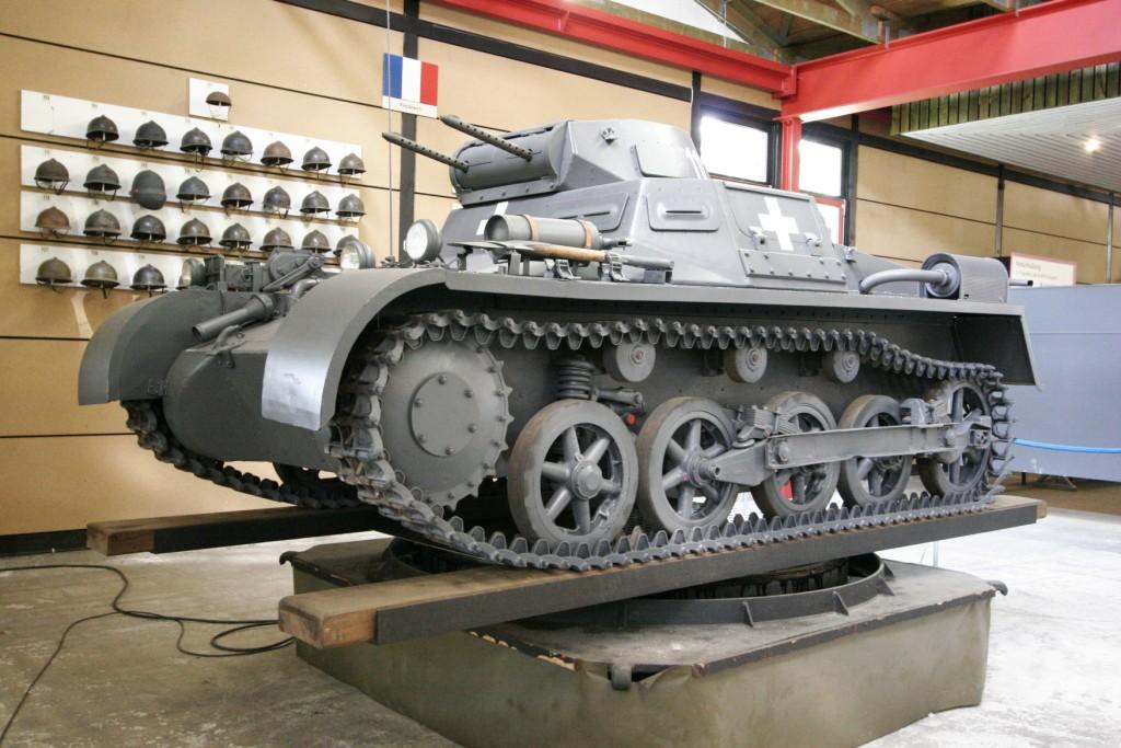 Легкий немецкий танк Pz-I