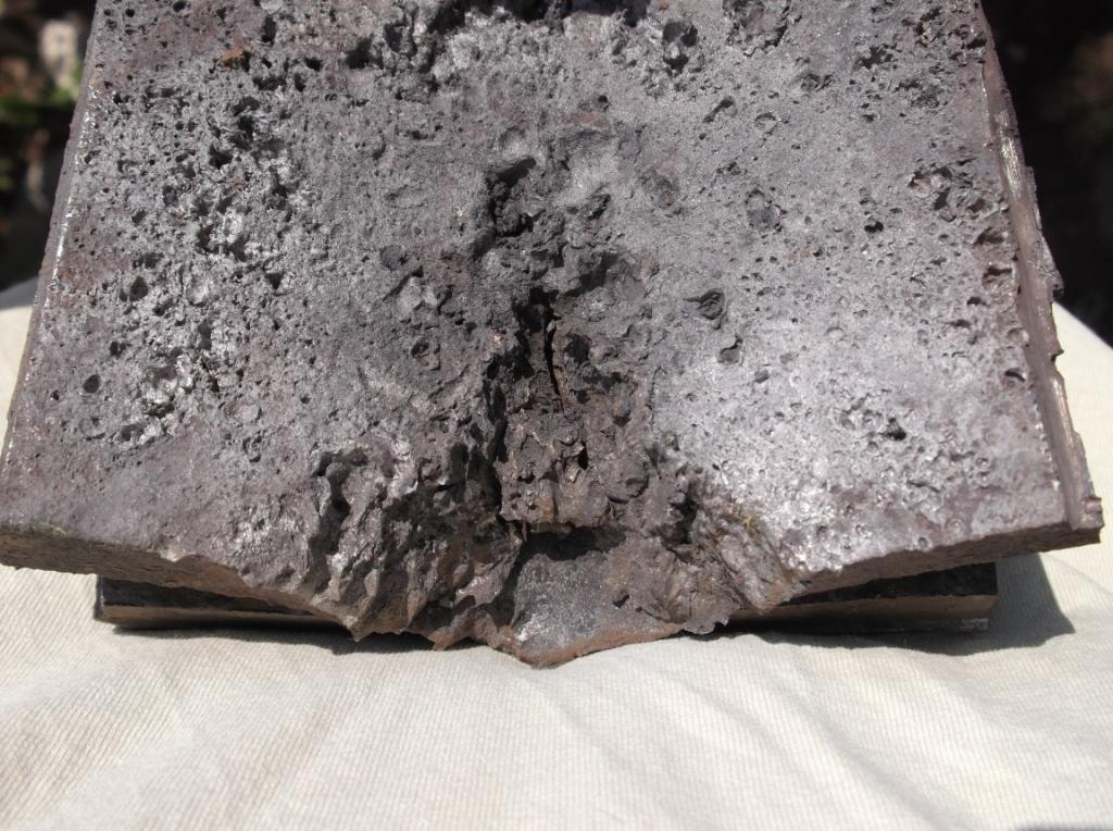 Мишени после взрыва