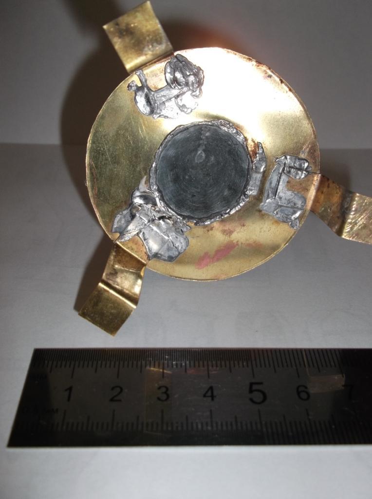 Первая модель кумулятивного устройства