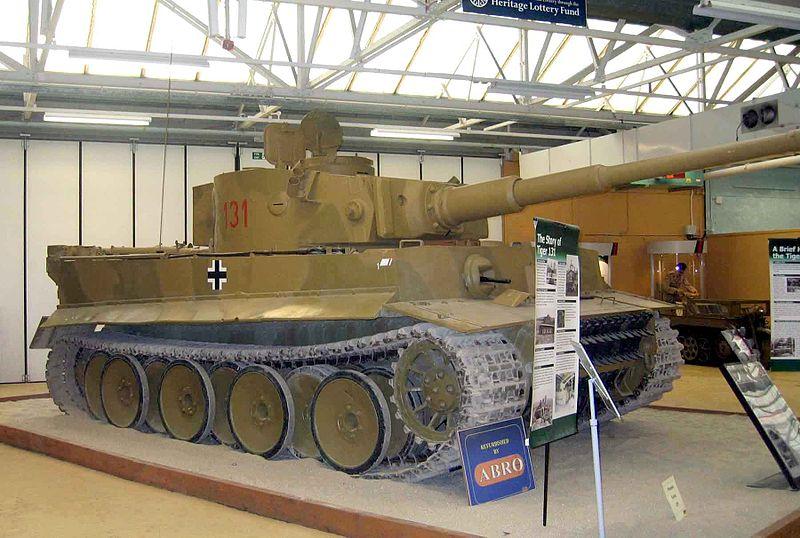 Тяжелый танк Pz-VI (Тигр-1)