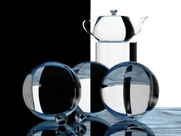 Преломление и отражение света в стеклянных шарах (компьютерное моделирование)