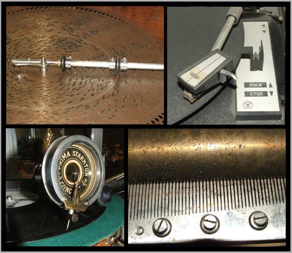 Музыкальная шкатулка, патефон, проигрыватель виниловых грампластинок