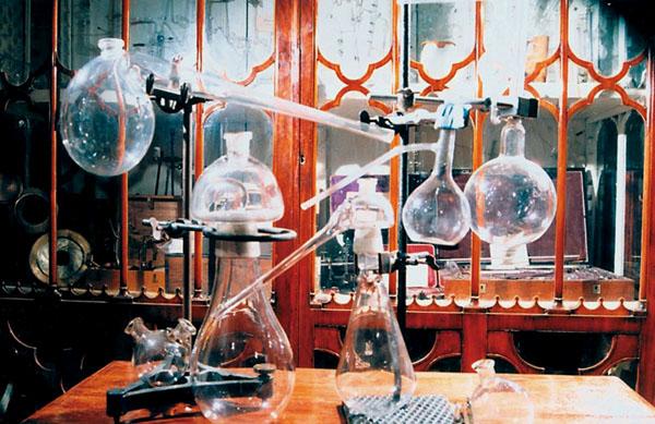 Старинная химическая посуда