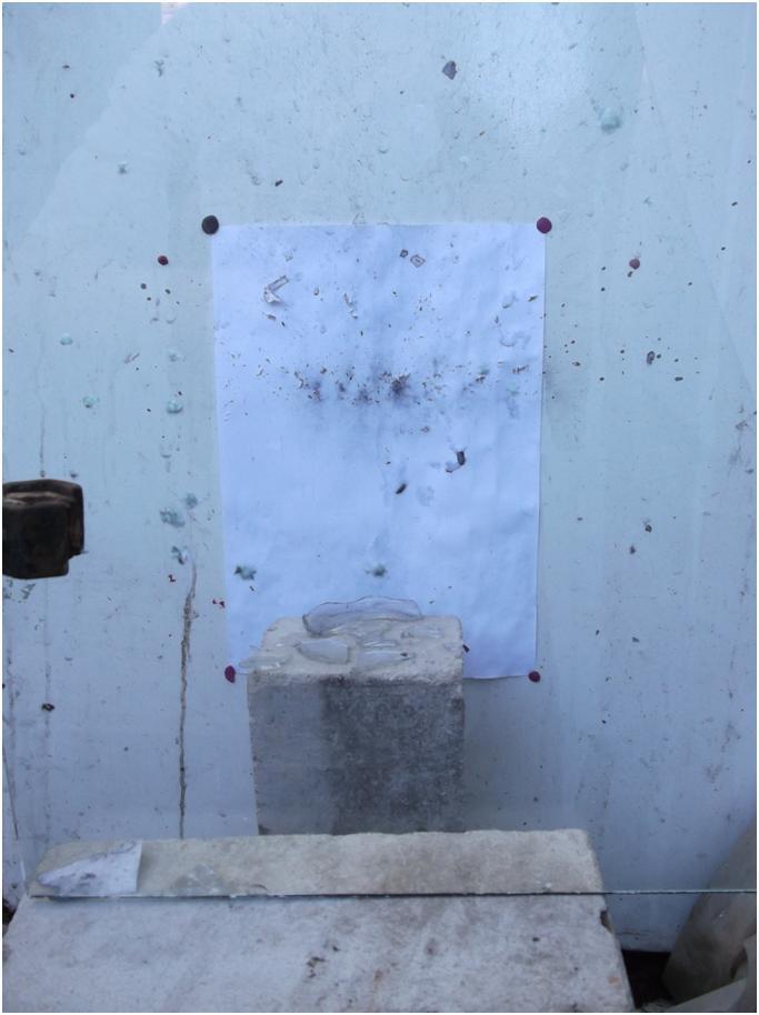 Результат взрыва детонатора