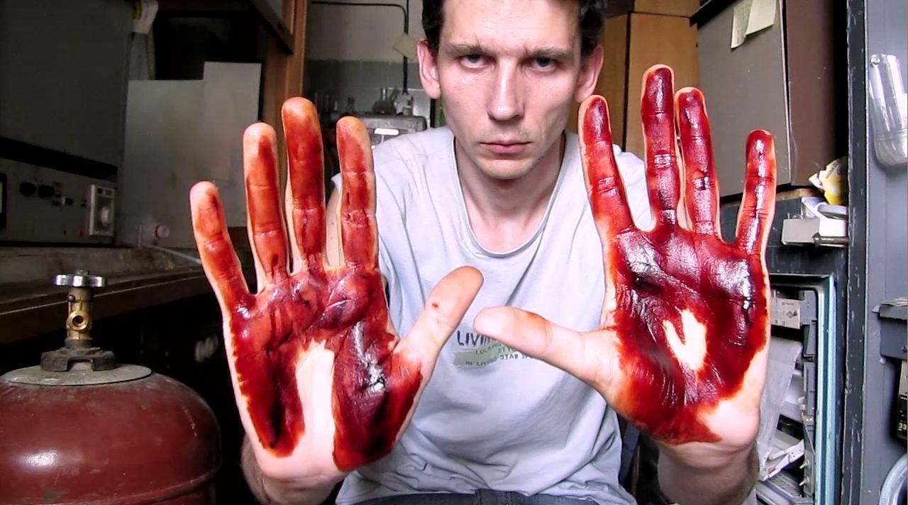 Кровавые ладони