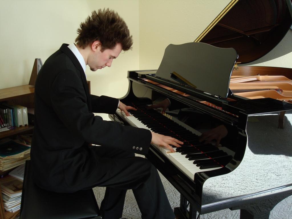 Урок фортепиано на хоровом отделении - 0abc7