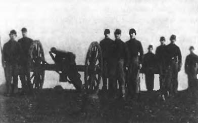 Одно из орудий северян, противостоявших атаке генерала Пиккета в битее при Геттисберге