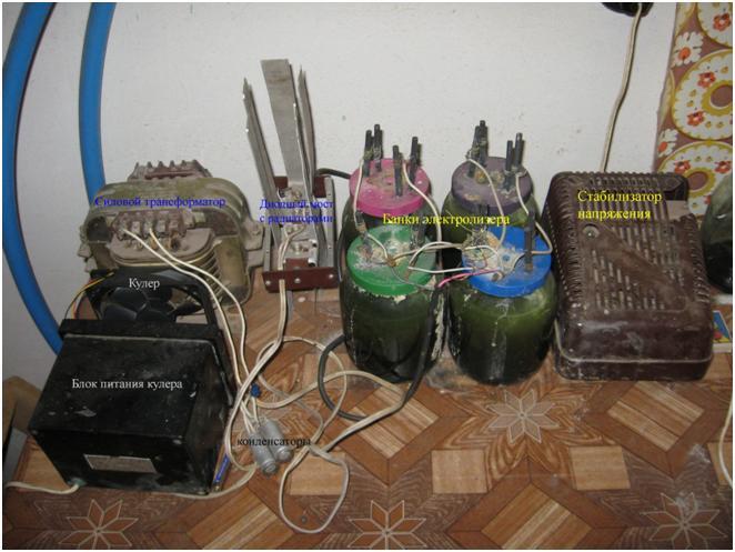 Установка для электрохимического получения хлората