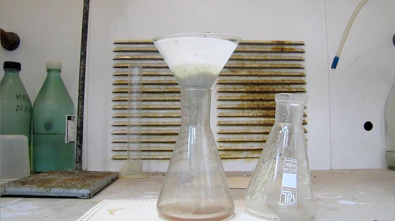 Получение гремучей ртути (фульмината ртути)