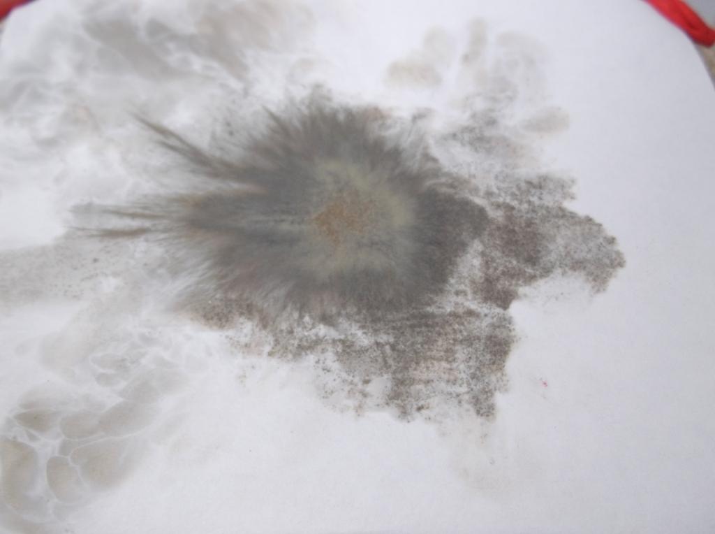 Взрыв фульмината ртути (гремучей ртути)