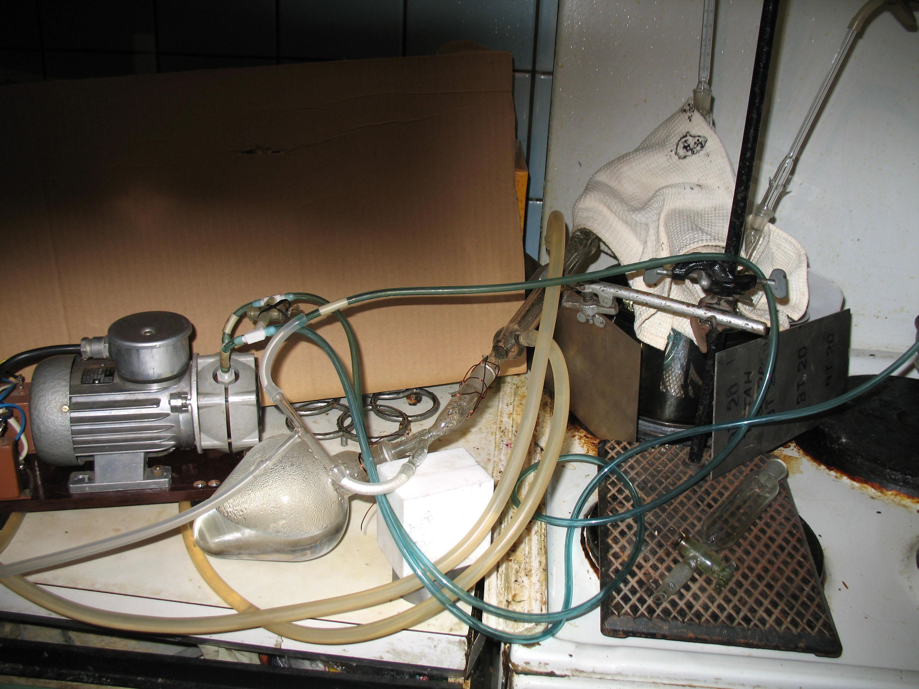 Лабораторная концентрационная установка циркуляционного типа