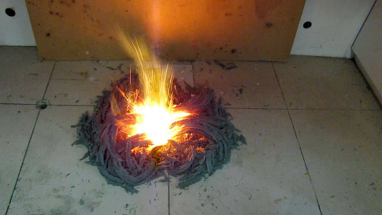 Химический вулкан и фараоновы змеи (нитрат аммония, уротропин, бихромат аммония)