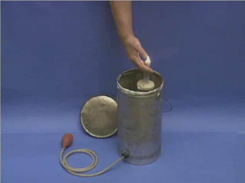 Взрыв смеси алюминиевая пудра - воздух в закрытом сосуде