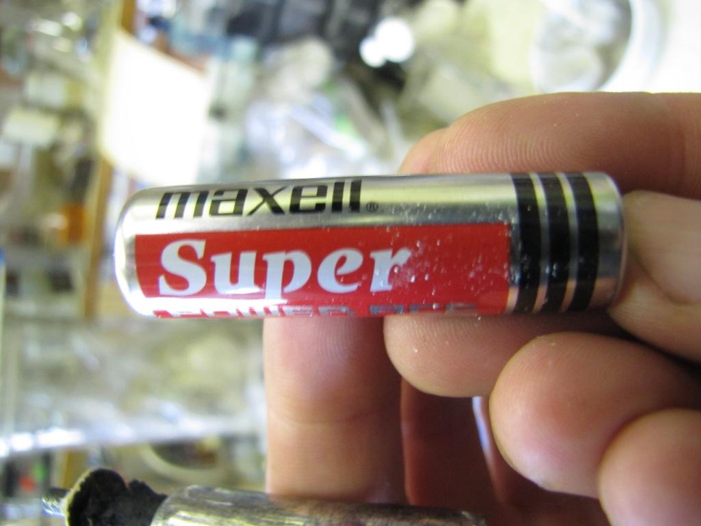Марганцево-цинковая батарейка (элемент Лекланше)