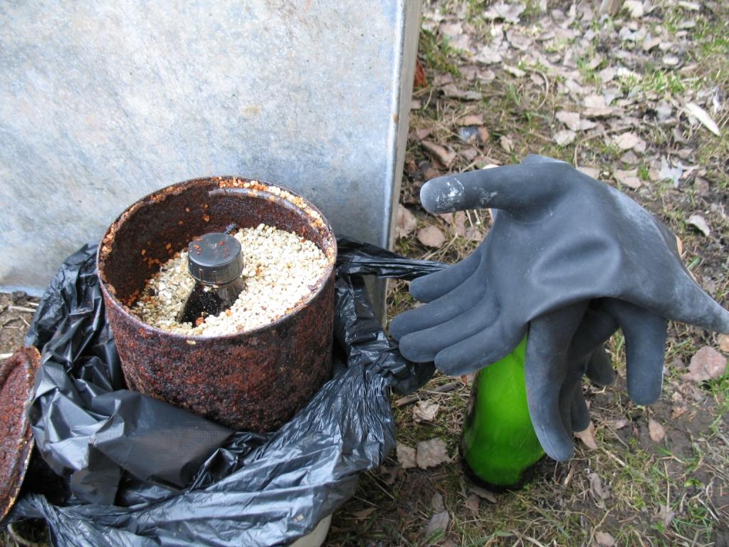 Получение бромистой серы - подготовка