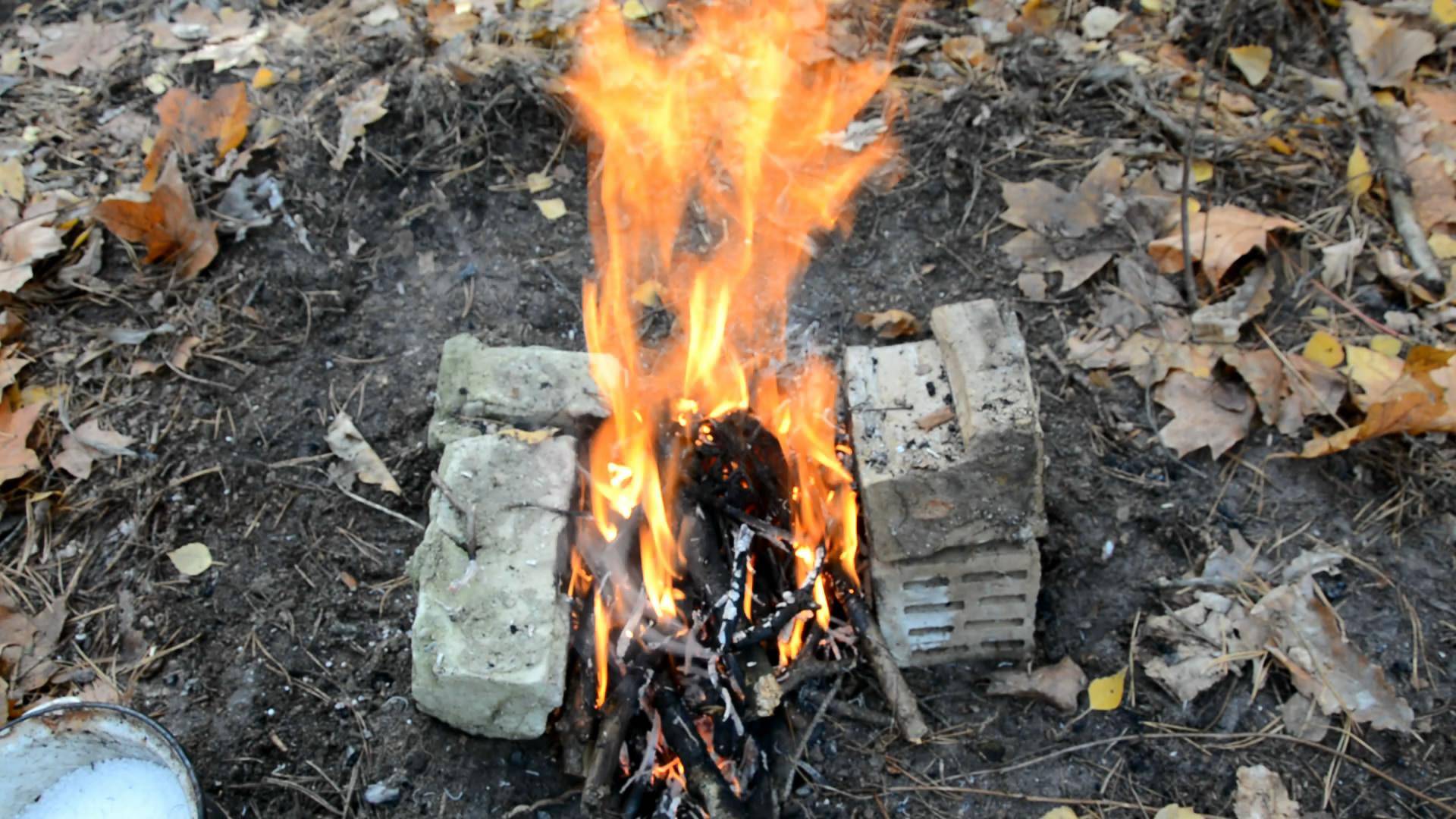 Нитрат аммония - 850 г и сахар - 150 г (горение смеси). Ammonium Nitrate and Sugar (burning of the mixture)