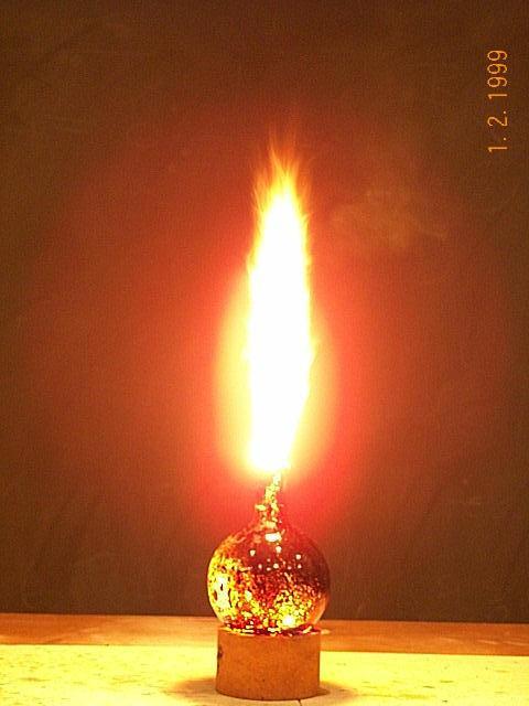 Горение анилина в диоксиде азота NO2