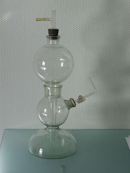 Kipp's apparatus. Аппарат Киппа