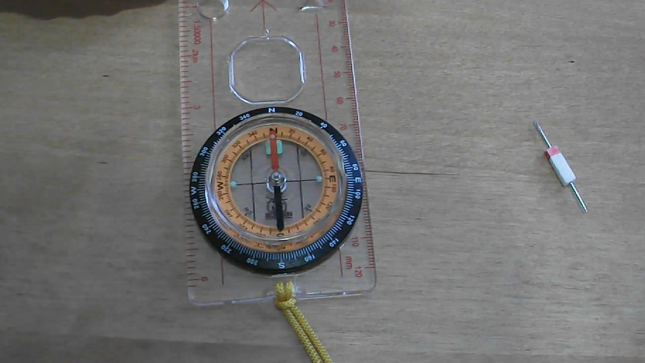 Магнитный компас из иглы. How to make magnetic compass from needle