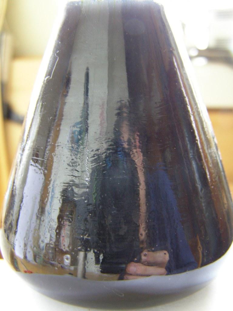 Взаимодействие зеленого чая с хлоридом железа (III)