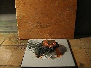 Химический вулкан (бихромат аммония и сахар) / Chemical Volcano (Ammonium Dichromate and Sugar)