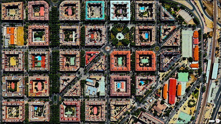 Спутниковые снимки
