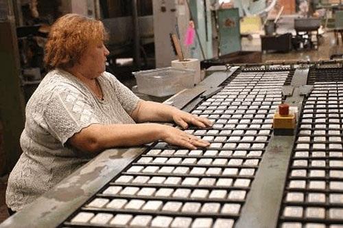 Автоматическая линия производства спичек