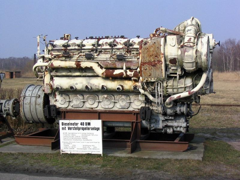 Дизельный двигатель с турбонаддувом
