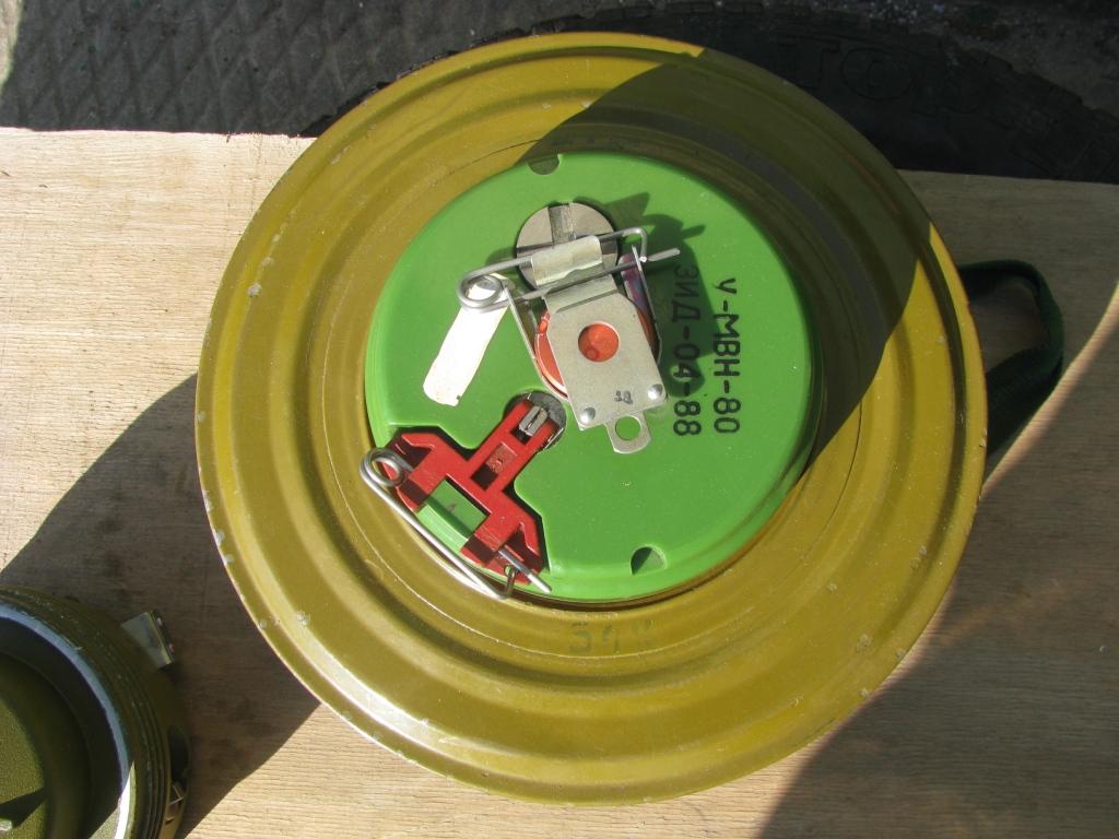Взрыватель МВН-80 и мина ТМ-72