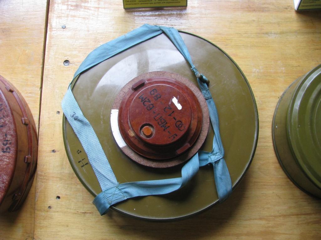 Противотанковая мина ТМ-62 Soviet anti-tank blast mine ТМ-62 (7 kg of TNT)
