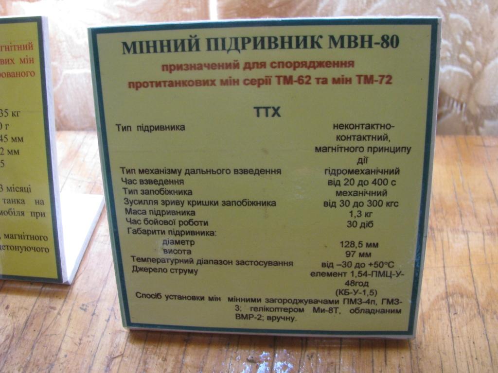 Взрыватель МВН-80