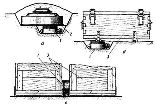 Использование мины-ловушки МС-3