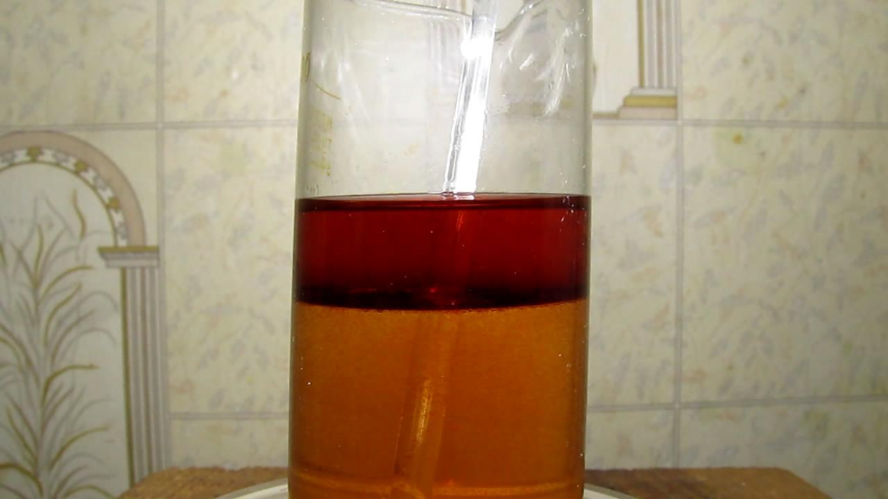 Комплекс молибдена (V)с роданидом. Thiocyanate complex of molybdenum (V)